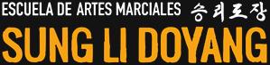 Escuela de artes marciales. Logo